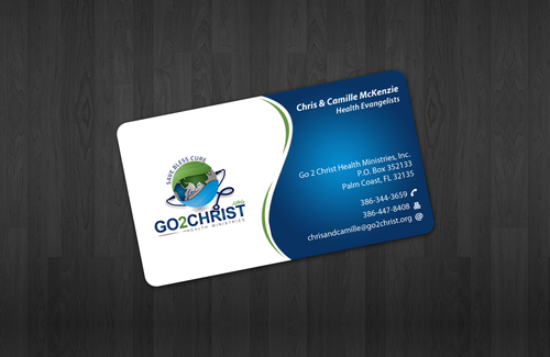 Go 2 Christ Health Ministries, Inc Business Cards and Stationery  Draft # 19 by einsanimation
