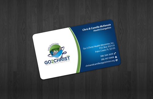 Go 2 Christ Health Ministries, Inc Business Cards and Stationery  Draft # 20 by einsanimation