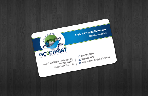 Go 2 Christ Health Ministries, Inc Business Cards and Stationery  Draft # 27 by einsanimation