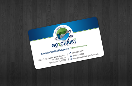Go 2 Christ Health Ministries, Inc Business Cards and Stationery  Draft # 29 by einsanimation
