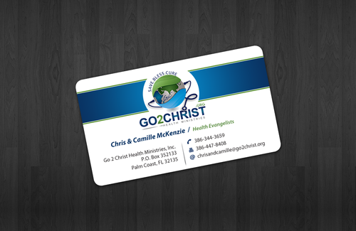 Go 2 Christ Health Ministries, Inc Business Cards and Stationery  Draft # 30 by einsanimation