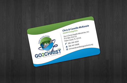 Go 2 Christ Health Ministries, Inc Business Cards and Stationery  Draft # 31 by einsanimation