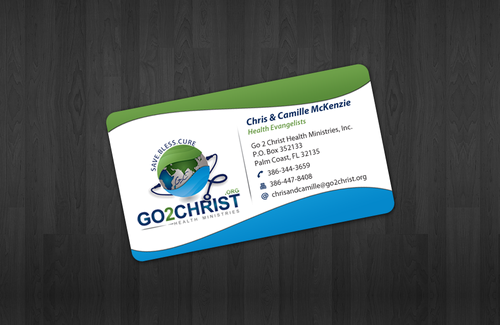 Go 2 Christ Health Ministries, Inc Business Cards and Stationery  Draft # 32 by einsanimation
