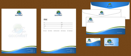 Go 2 Christ Health Ministries, Inc Business Cards and Stationery  Draft # 36 by smartinfo