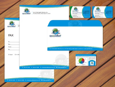Go 2 Christ Health Ministries, Inc Business Cards and Stationery  Draft # 44 by smartinfo