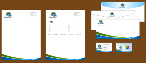 Go 2 Christ Health Ministries, Inc Business Cards and Stationery  Draft # 46 by smartinfo