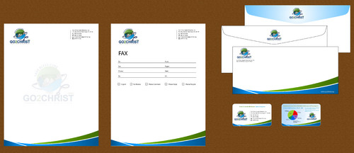 Go 2 Christ Health Ministries, Inc Business Cards and Stationery  Draft # 47 by smartinfo