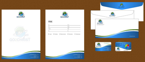 Go 2 Christ Health Ministries, Inc Business Cards and Stationery  Draft # 48 by smartinfo