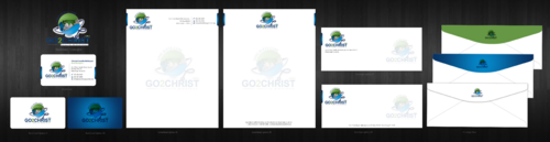Go 2 Christ Health Ministries, Inc Business Cards and Stationery  Draft # 58 by einsanimation