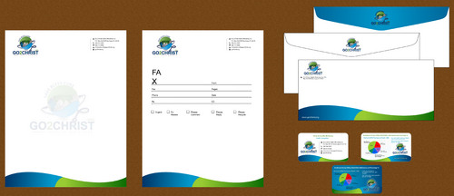 Go 2 Christ Health Ministries, Inc Business Cards and Stationery  Draft # 65 by smartinfo