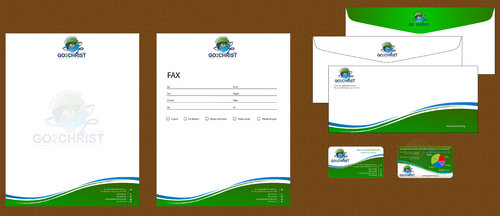 Go 2 Christ Health Ministries, Inc Business Cards and Stationery  Draft # 67 by smartinfo