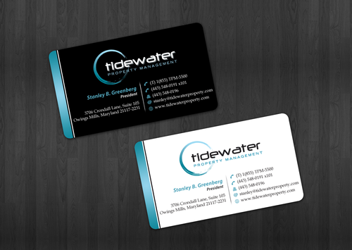 Tidewater Property Management, Inc. Business Cards and Stationery  Draft # 37 by einsanimation
