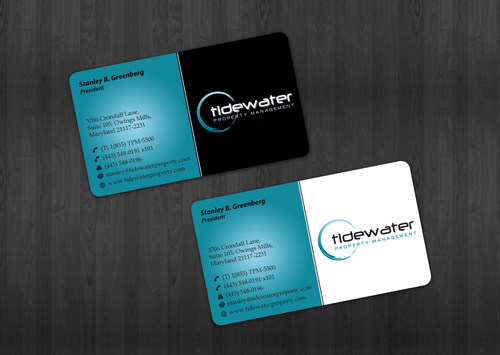 Tidewater Property Management, Inc. Business Cards and Stationery  Draft # 41 by einsanimation