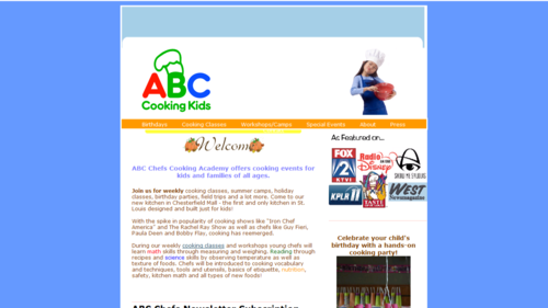 ABC Cooking Kids A Logo, Monogram, or Icon  Draft # 33 by 2lines