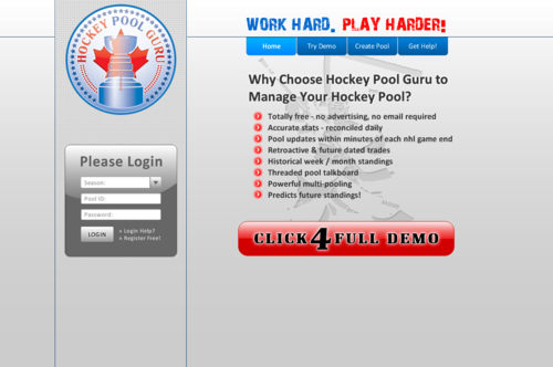 Hockey Pool Manager