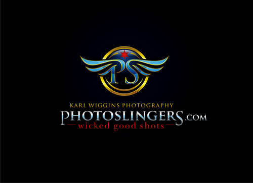"PhotoSlingers.com (sub title would be ""Karl Wiggins photography"")"
