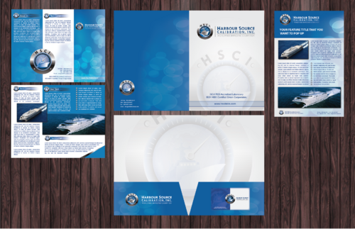 Marketing Collateral for Calibration Company