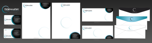Tidewater Property Management, Inc. Business Cards and Stationery  Draft # 81 by einsanimation
