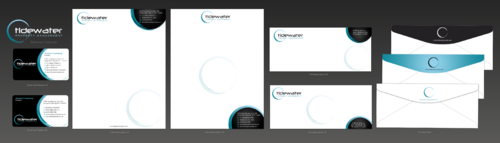 Tidewater Property Management, Inc. Business Cards and Stationery  Draft # 83 by einsanimation