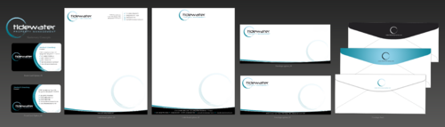 Tidewater Property Management, Inc. Business Cards and Stationery  Draft # 84 by einsanimation