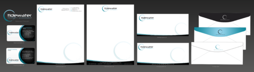 Tidewater Property Management, Inc. Business Cards and Stationery  Draft # 85 by einsanimation