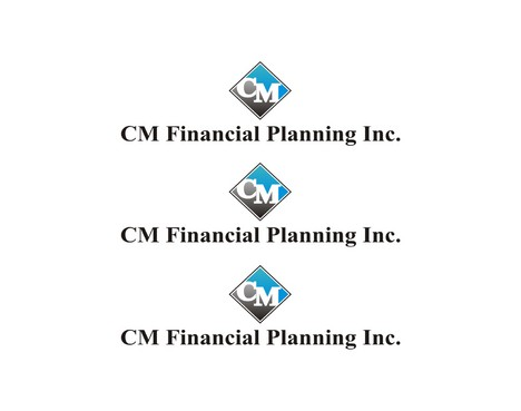 CM Financial Planning Inc. A Logo, Monogram, or Icon  Draft # 13 by epesmeer