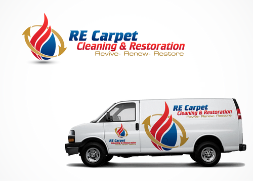 RE Carpet Cleaning & Restoration A Logo, Monogram, or Icon  Draft # 3 by MTXdesign