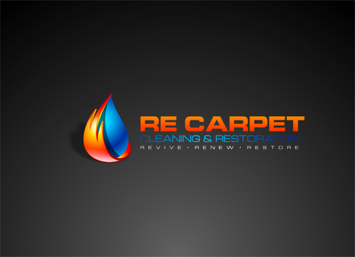 RE Carpet Cleaning & Restoration A Logo, Monogram, or Icon  Draft # 27 by nakedart