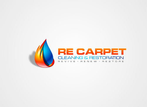 RE Carpet Cleaning & Restoration A Logo, Monogram, or Icon  Draft # 26 by nakedart