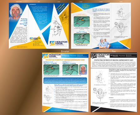 Sales sheet and a brochure