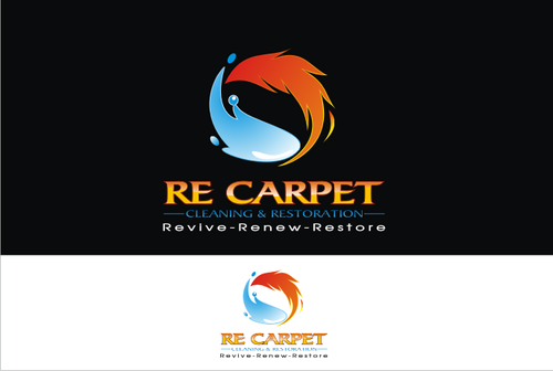 RE Carpet Cleaning & Restoration A Logo, Monogram, or Icon  Draft # 37 by vable