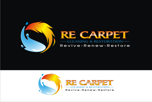 RE Carpet Cleaning & Restoration A Logo, Monogram, or Icon  Draft # 38 by vable