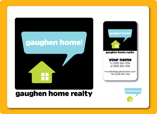 Gaughen Home Realty A Logo, Monogram, or Icon  Draft # 13 by TinTownGraphics