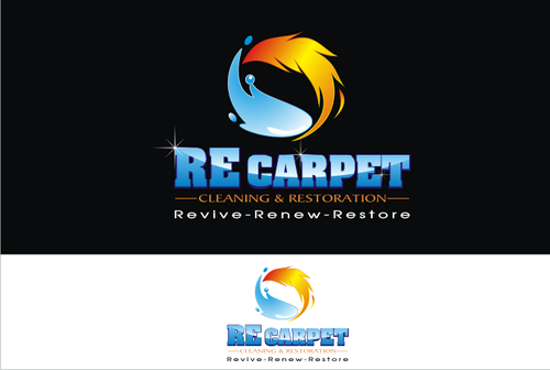 RE Carpet Cleaning & Restoration A Logo, Monogram, or Icon  Draft # 43 by vable