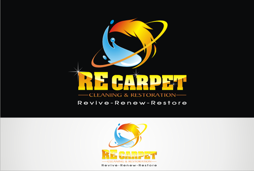 RE Carpet Cleaning & Restoration A Logo, Monogram, or Icon  Draft # 47 by vable