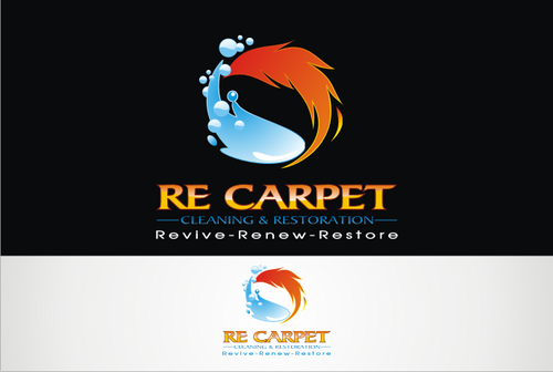 RE Carpet Cleaning & Restoration A Logo, Monogram, or Icon  Draft # 51 by vable