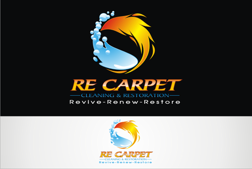 RE Carpet Cleaning & Restoration A Logo, Monogram, or Icon  Draft # 52 by vable
