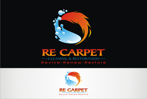RE Carpet Cleaning & Restoration A Logo, Monogram, or Icon  Draft # 53 by vable