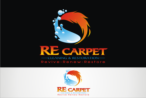 RE Carpet Cleaning & Restoration A Logo, Monogram, or Icon  Draft # 54 by vable