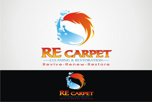 RE Carpet Cleaning & Restoration A Logo, Monogram, or Icon  Draft # 55 by vable
