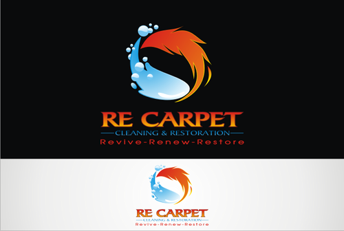 RE Carpet Cleaning & Restoration A Logo, Monogram, or Icon  Draft # 57 by vable
