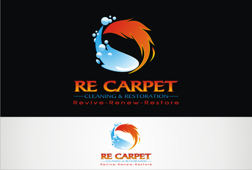 RE Carpet Cleaning & Restoration A Logo, Monogram, or Icon  Draft # 58 by vable