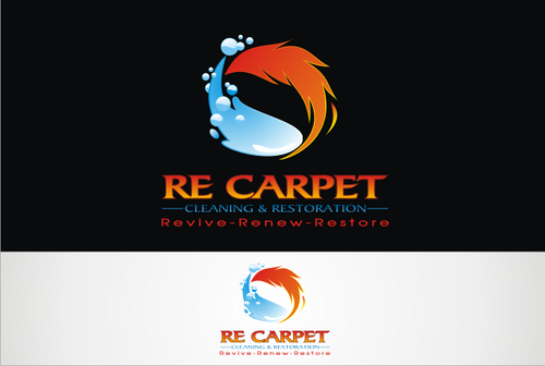 RE Carpet Cleaning & Restoration A Logo, Monogram, or Icon  Draft # 60 by vable