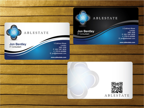 IT Consulting Business Cards and Stationery  Draft # 10 by creater