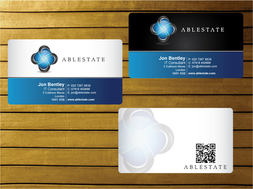IT Consulting Business Cards and Stationery  Draft # 11 by creater