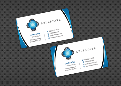 IT Consulting Business Cards and Stationery  Draft # 28 by einsanimation