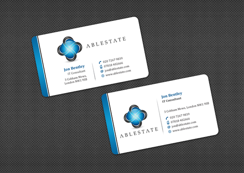 IT Consulting Business Cards and Stationery  Draft # 31 by einsanimation