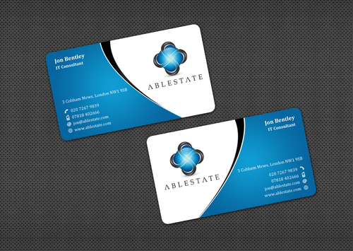 IT Consulting Business Cards and Stationery  Draft # 32 by einsanimation