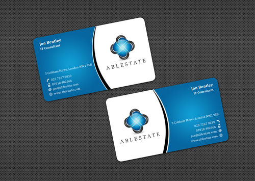 IT Consulting Business Cards and Stationery  Draft # 35 by einsanimation