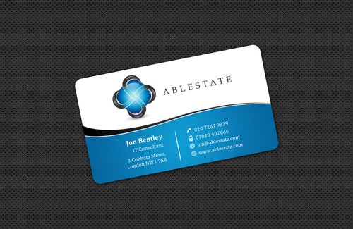 IT Consulting Business Cards and Stationery  Draft # 38 by einsanimation